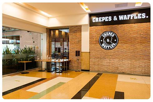 Crepes & Waffles, Centro Comercial San Nicolás