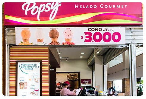 Popsy Local 128, Centro Comercial San Nicolás