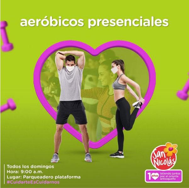 Aerobicos Presenciales