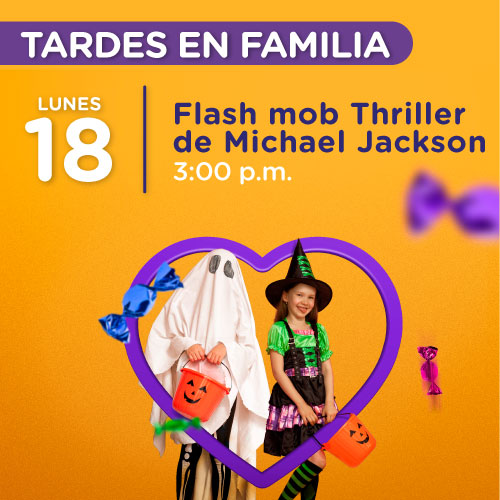 Flash mob Thriller de Michael Jackson